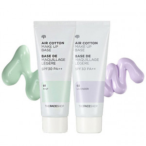 Air Cotton Make-Up Base SPF 30 The Face Shop